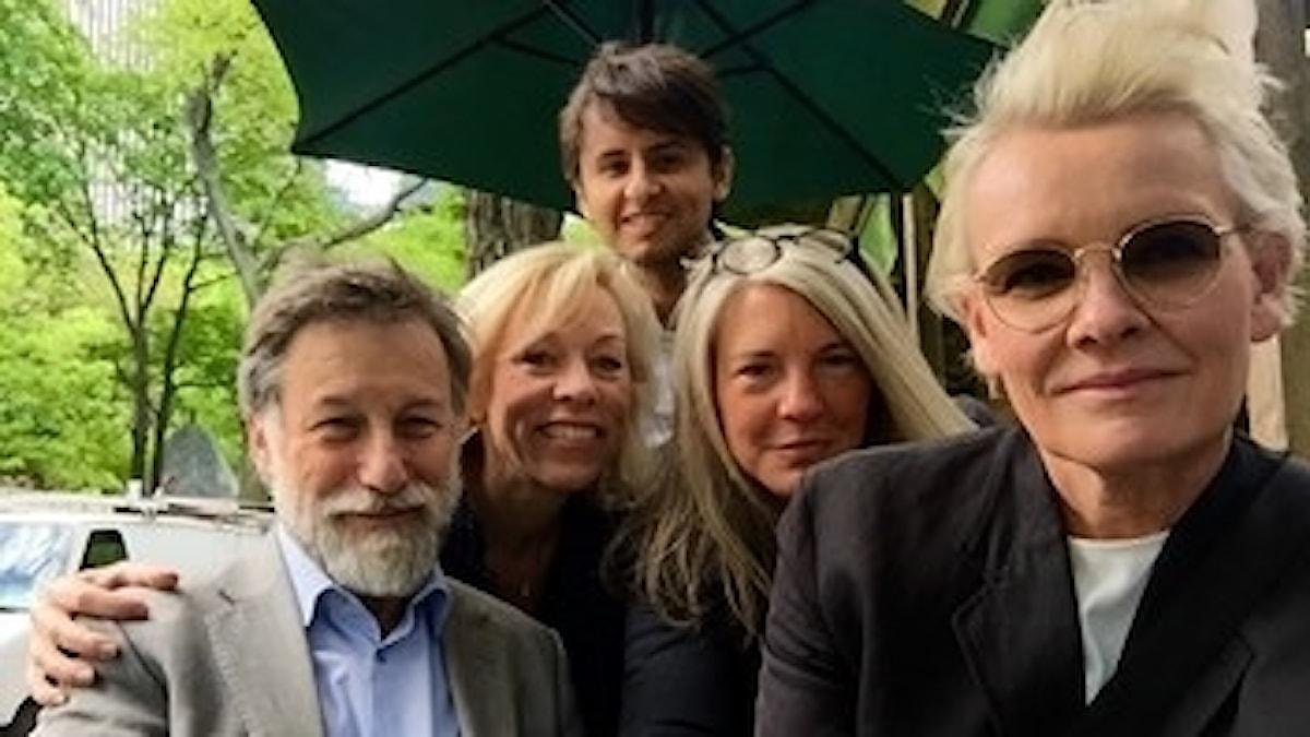 Leif Pagrotsky, Ginna Lindberg, Fernando Arias, Sara Stenholm Pihl, Eva Dahlgren.
