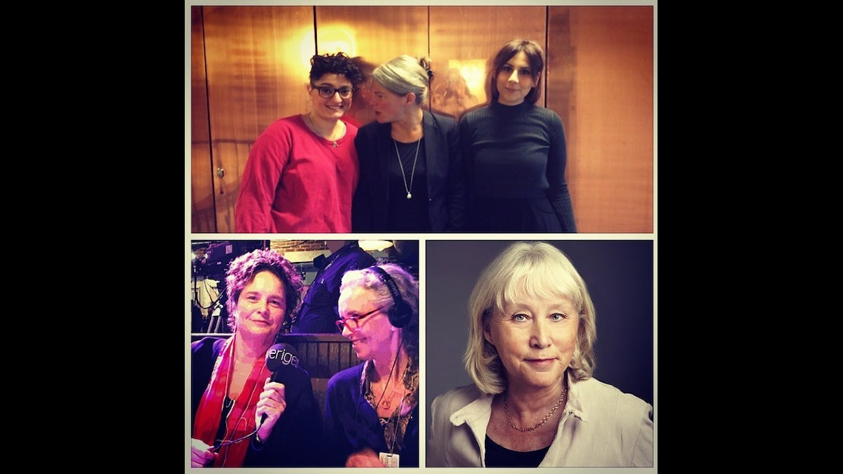 Nivette Dawod, Sara Stenholm, Gilda Hamidi-Nia, Agneta Furvik, Inger Arenander och Britt-Marie Mattsson