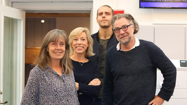 Nina Benner, Ginna Lindberg, Anders Ask och Björn Barr.