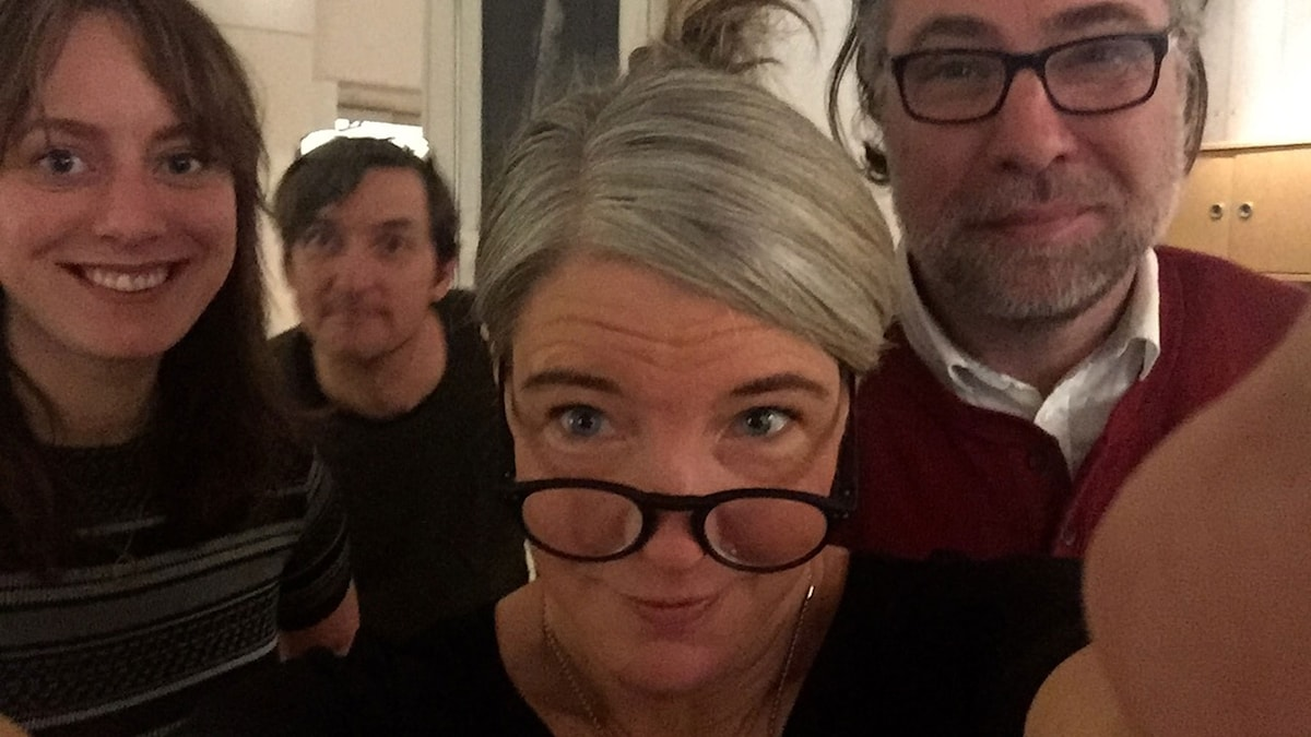 Stephanie Zakrisson, Magnus Westberg, Sara Stenholm Pihl, Anders Ask