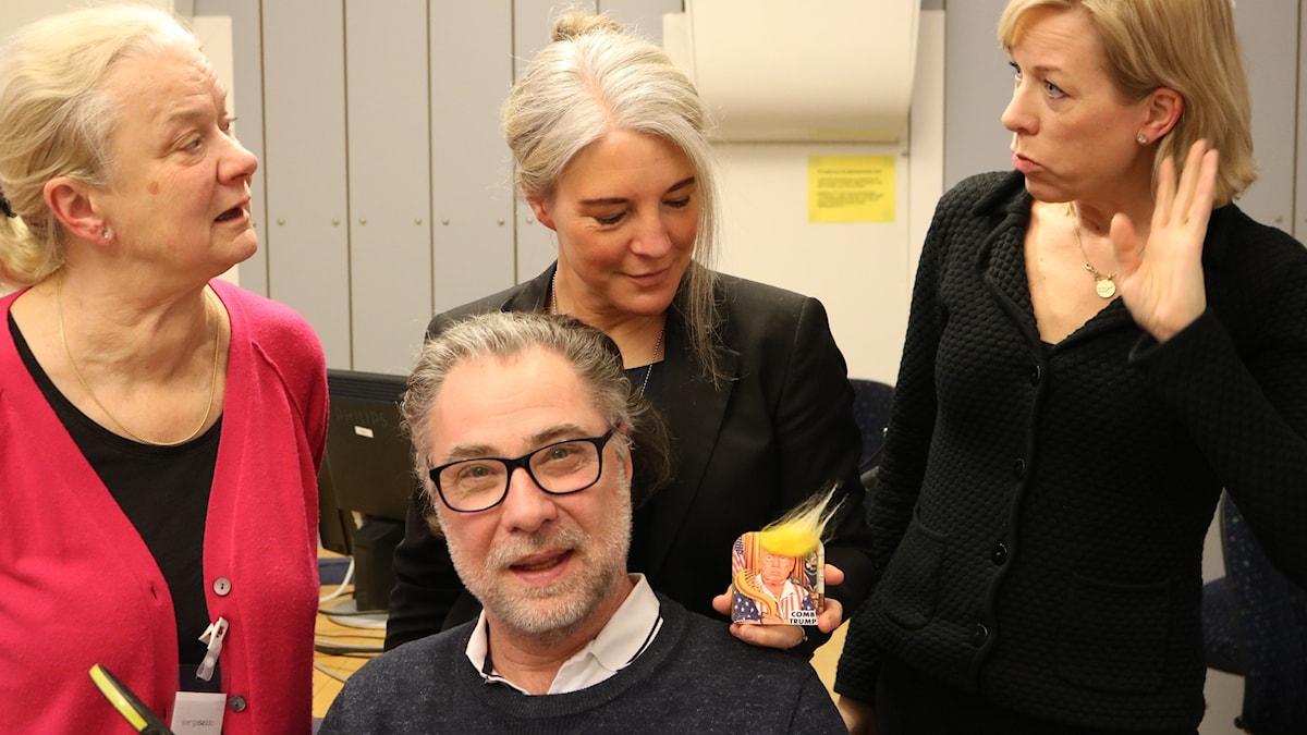 Karin Henriksson, Anders Ask, Sara Stenholm Pihl och Ginna Lindberg