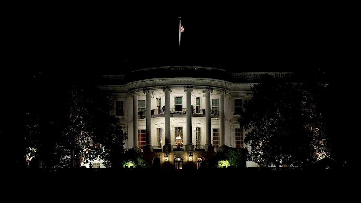 Vita huset i Washington.