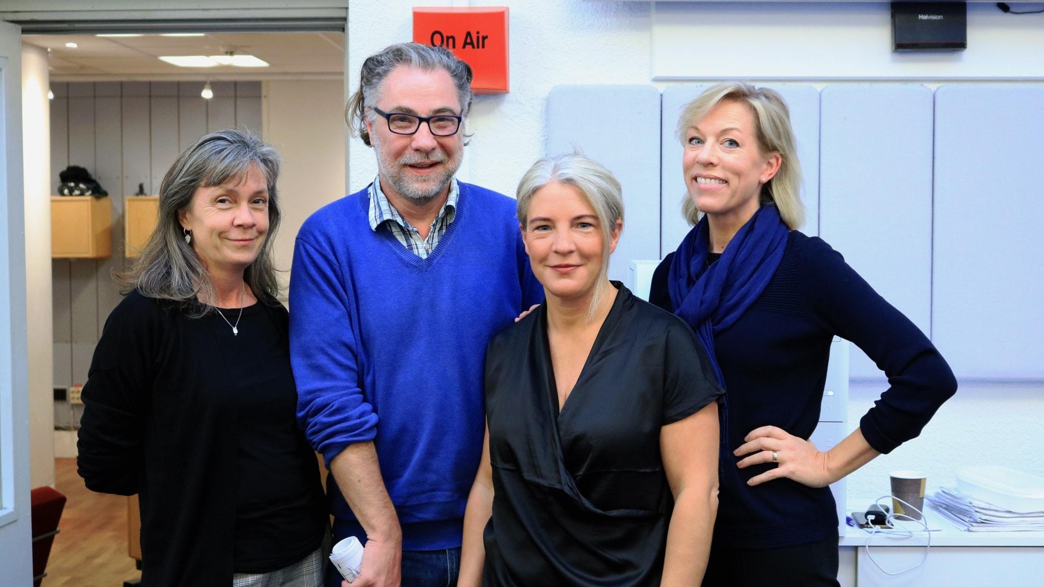 Nina Benner, Anders Ask, Sara Stenholm Pihl och Ginna Lindberg.