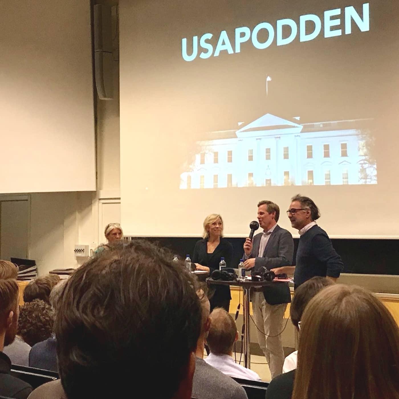 212: USApodden live på Stockholms universitet!