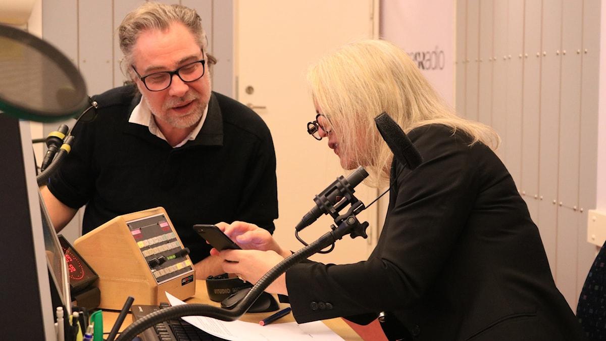Anders Ask och Sara Stenholm Pihl