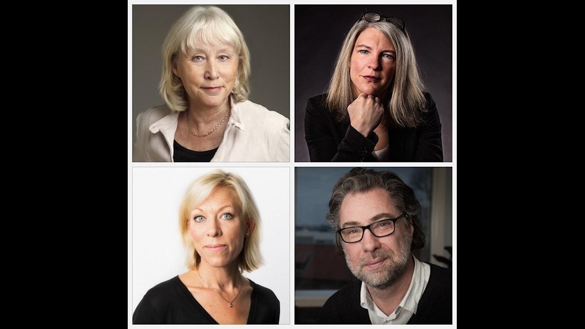 Britt-Marie Mattson, Sara Stenholm, Ginna Lindberg och Anders Ask.
