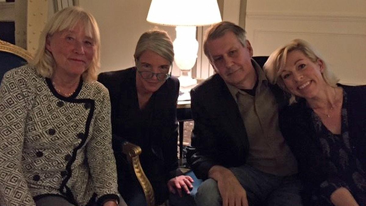 Britt-Marie Mattsson, Sara Stenholm Pihl, Sten Sjöström och Ginna Lindberg