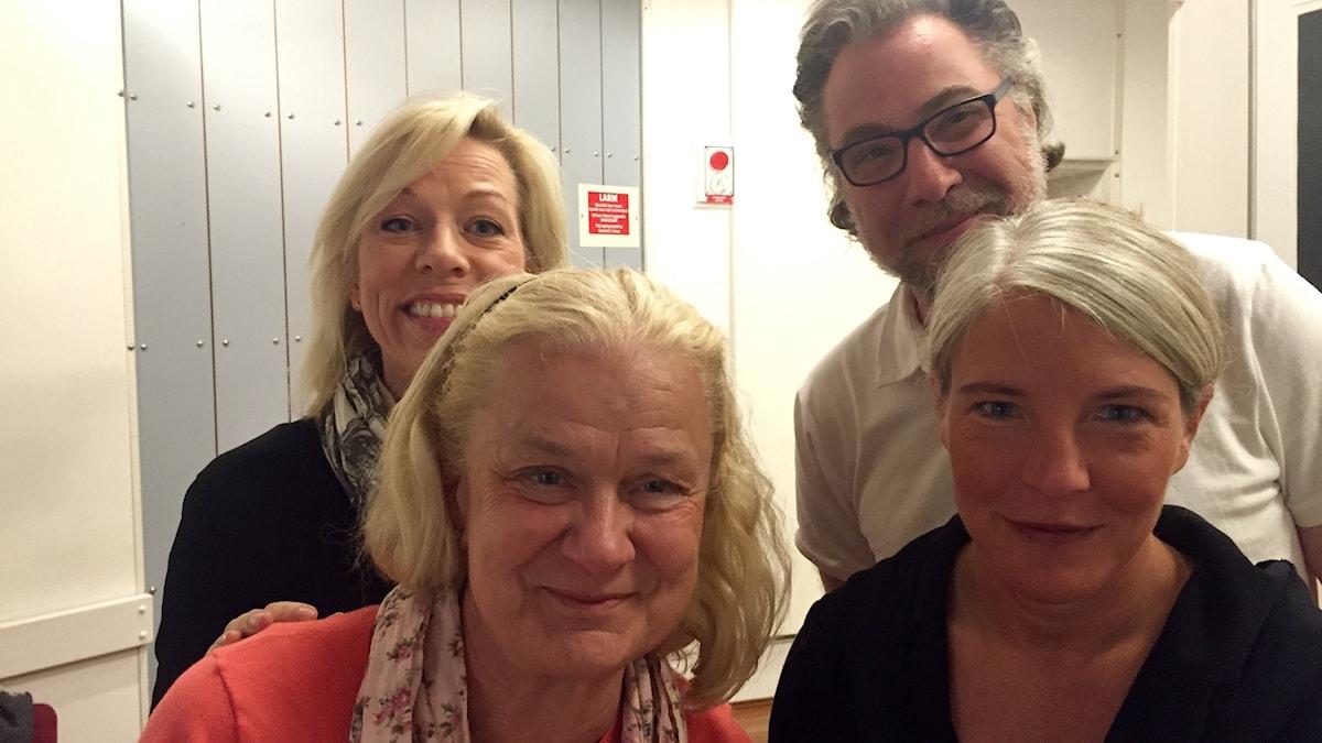Ginna Lindberg, Karin Henriksson, Anders Ask, Sara Stenholm.