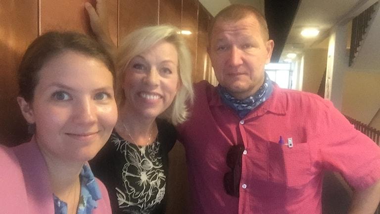Cecilia Khavar, Ginna Lindberg, Roland Poirier Martinsson.