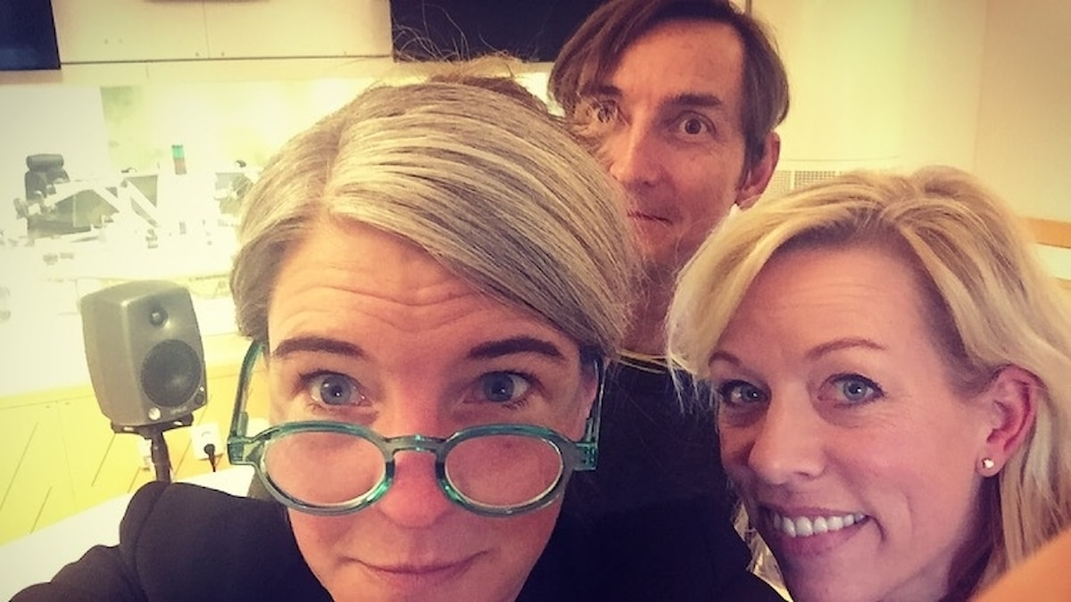 Sara Stenholm Pihl, Ginna Lindberg, Magnus Westberg