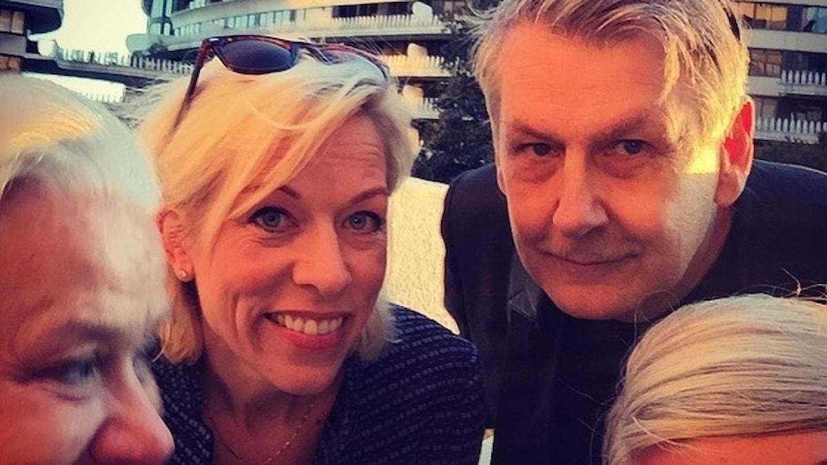Karin Henriksson, Ginna Lindberg, Sten Sjöström och Sara Stenholm