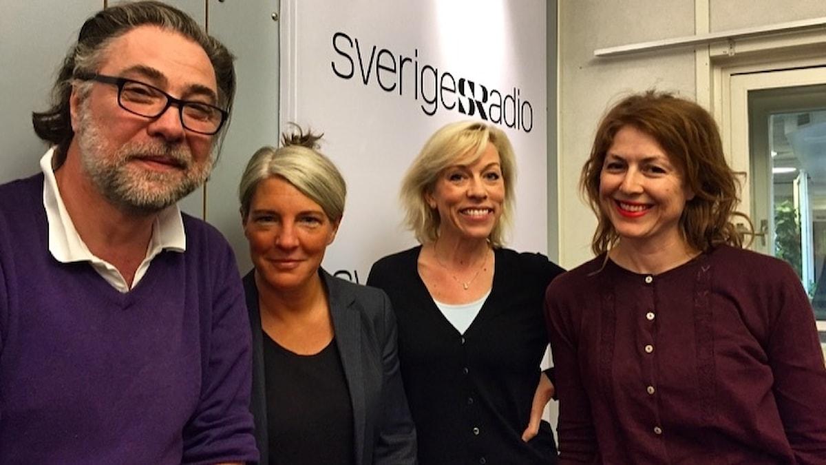 Anders Ask, Sara Stenholm Pihl, Ginna Lindberg, Kajsa Boglind