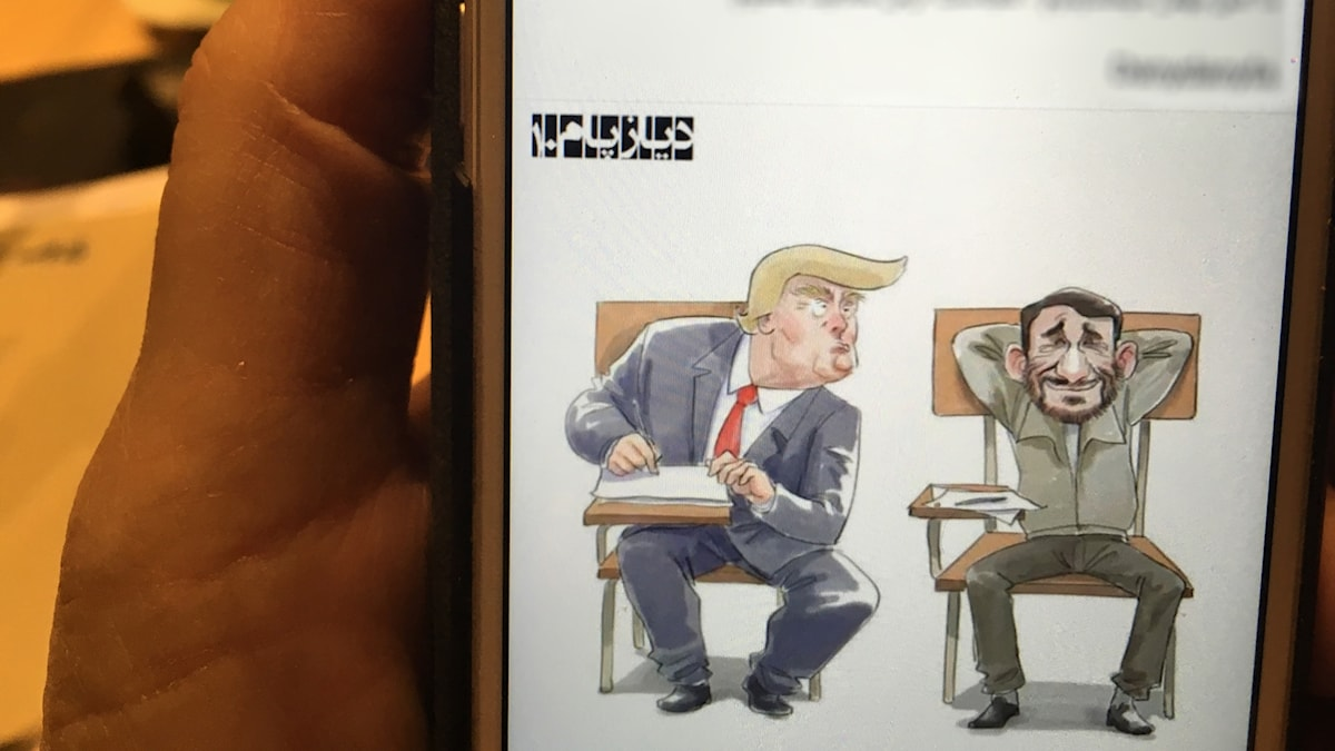 Trumpsatir från Iran