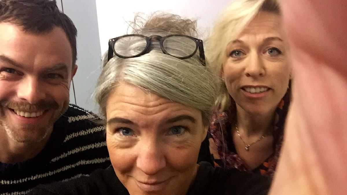 Ivar Ekman, Sara Stenholm Pihl, Ginna Lindberg