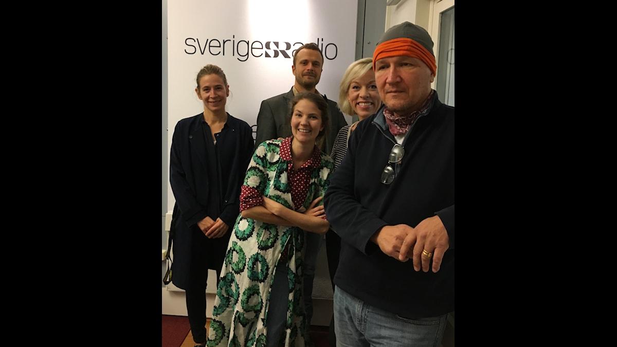 Karin Pettersson, David Carlqvist, Ginna Lindberg, Cecilia Khavar och Roland Poirier Martinsson.