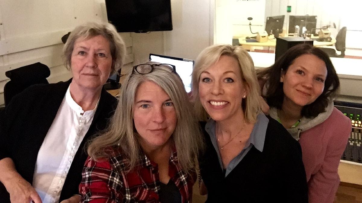 Agneta Ramberg, Sara Stenholm Pihl, Ginna Lindberg, Cecilia Khavar
