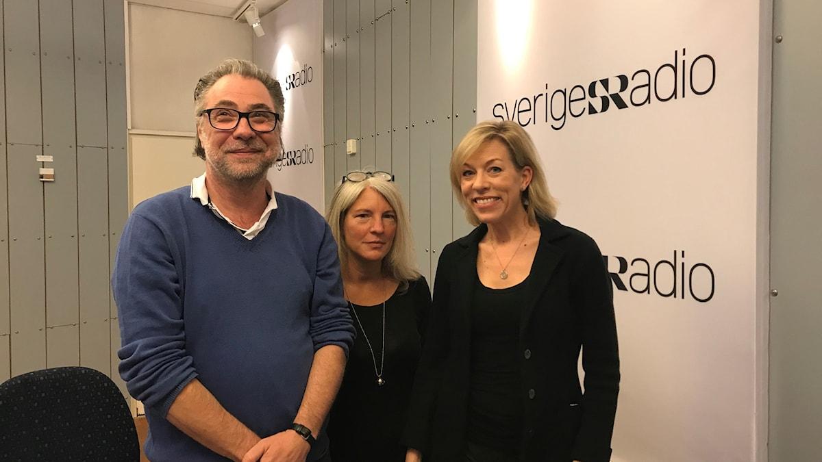 Anders Ask, Sara Stenholm Pihl, Ginna Lindberg.