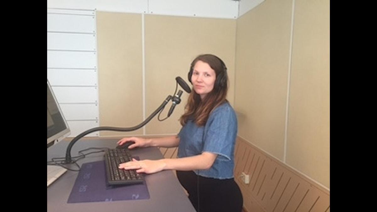Programledare Cecilia Khavar