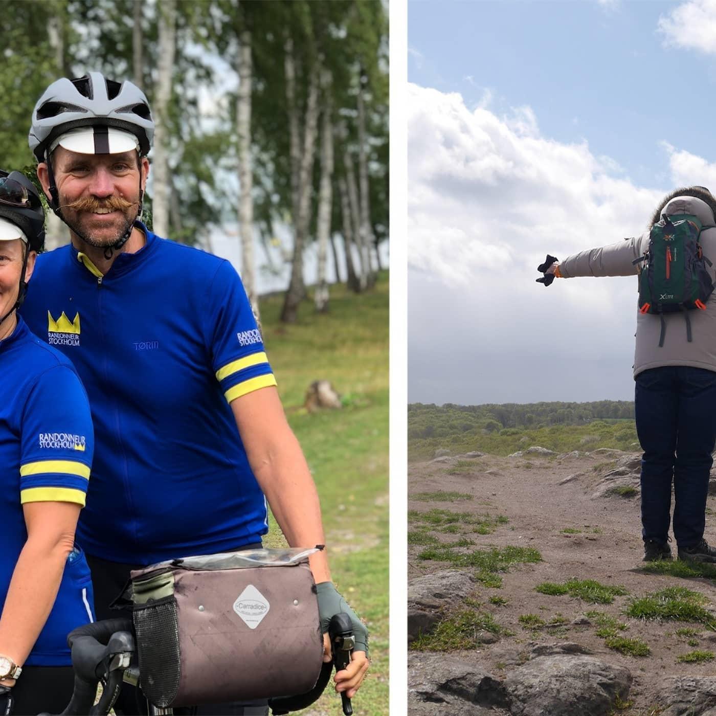 Långtur med cykel och hur gick det i Sjöbo?