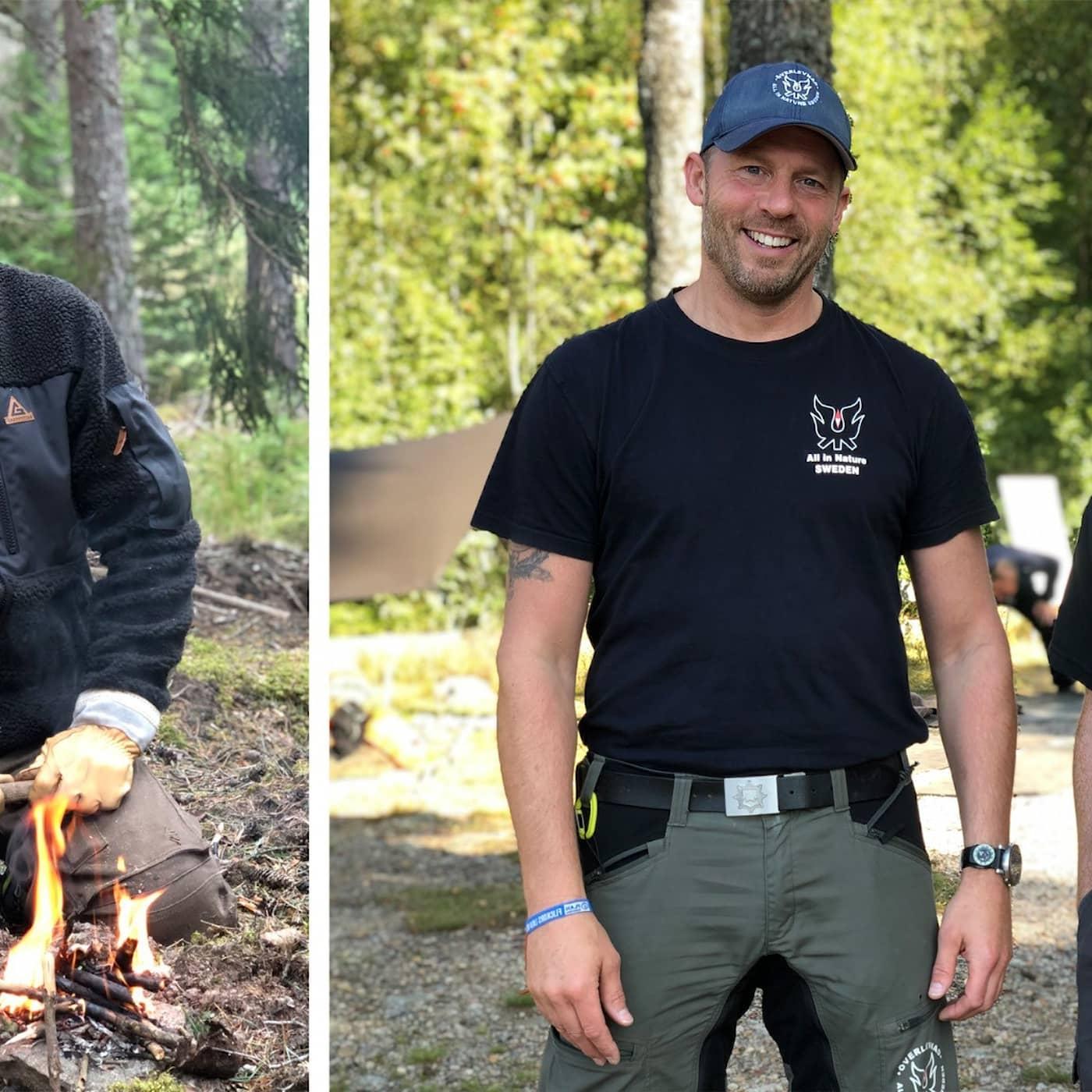 Om utrustning, eld och första hjälpen i naturen