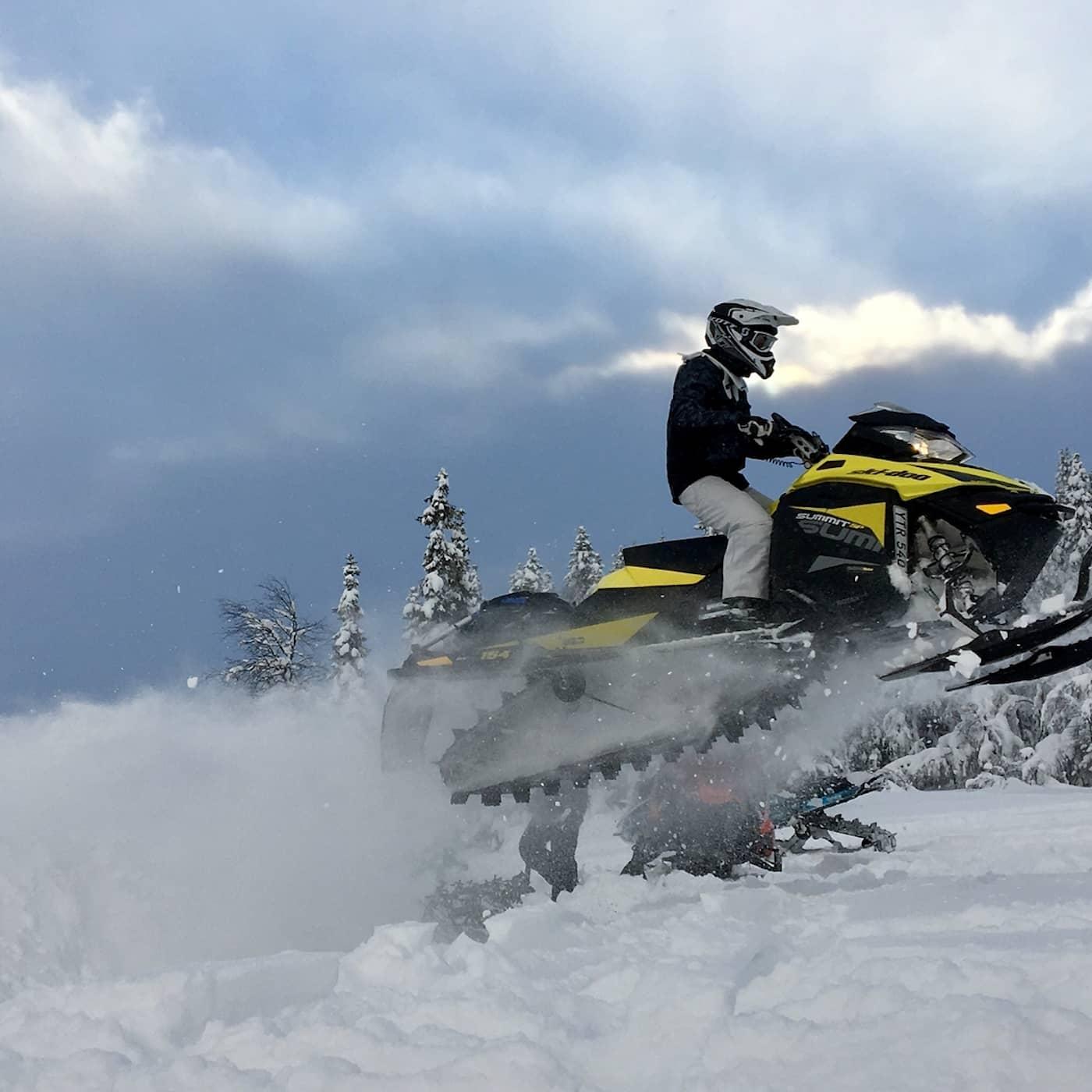 När snöskotern blir en livsstil