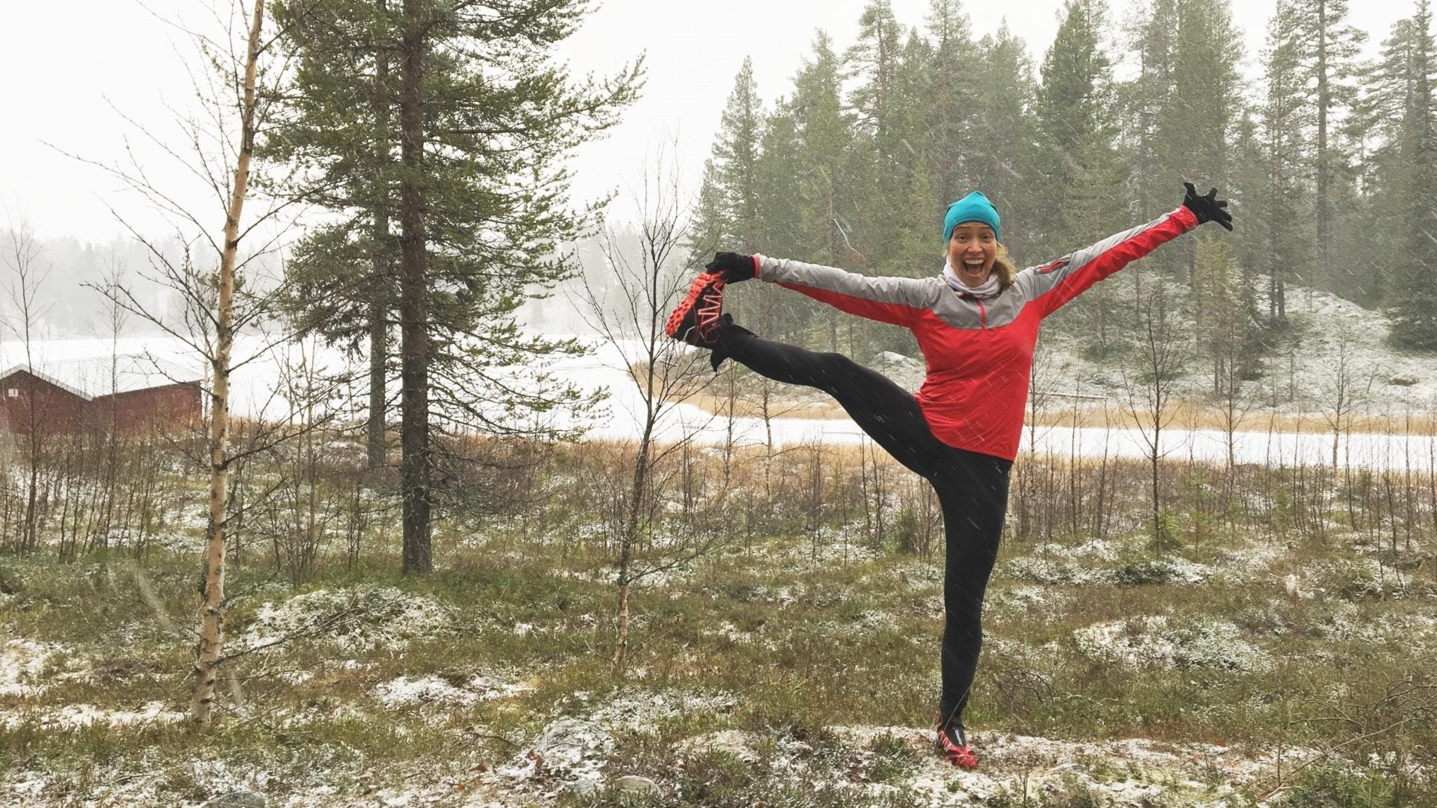 Om traillöpning, yoga och karta och kompass