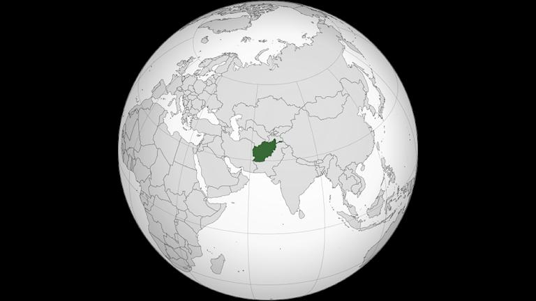Afghanistan ligger granne med länderna Pakistan, Iran, Turkmenistan. Uzbekistan, Tadjikistan och Kina.