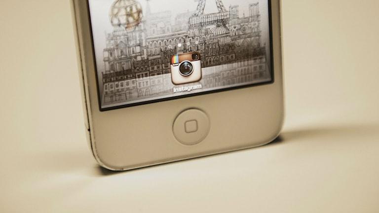 Så här ser Instagrams symbol ut. Foto: TT