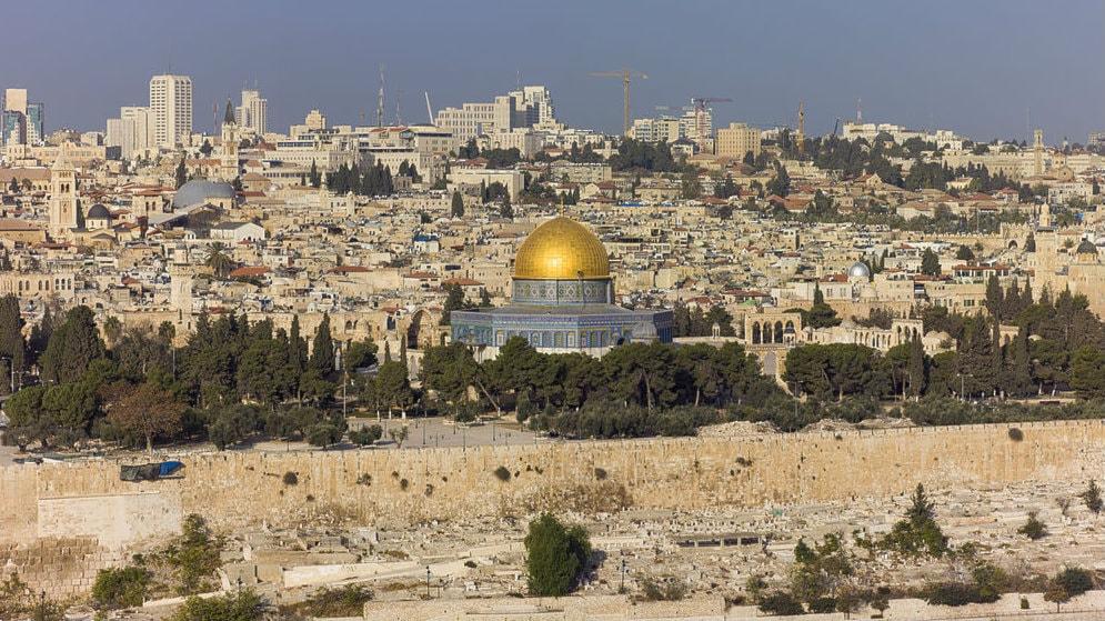 Israel gick in i palestinsk stad