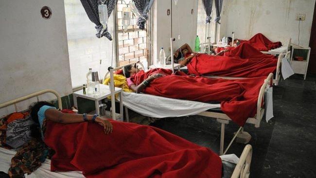 Minst 13 kvinnor har dött de senaste dagarna efter misslyckade steriliseringar. Foto: TT