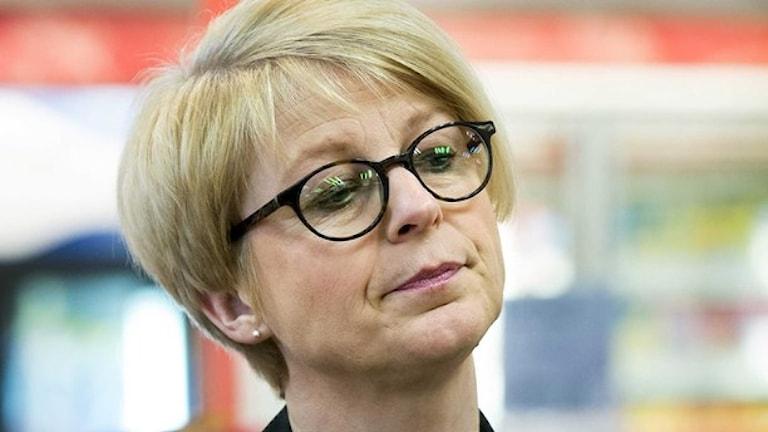 Elisabeth Svantesson, är ansvarig för invandringspolitiken för partiet Moderaterna.Foto: TT