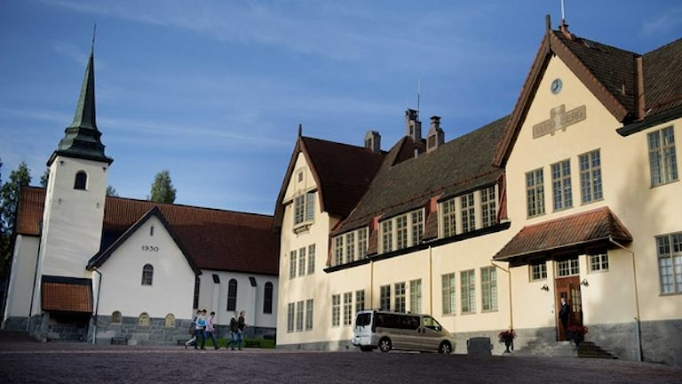 Lundsbergs skola är ett av de tre riksinternaten. Foto: Jessica Gow/TT.