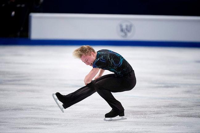 Alexander Majorov snurrar runt.