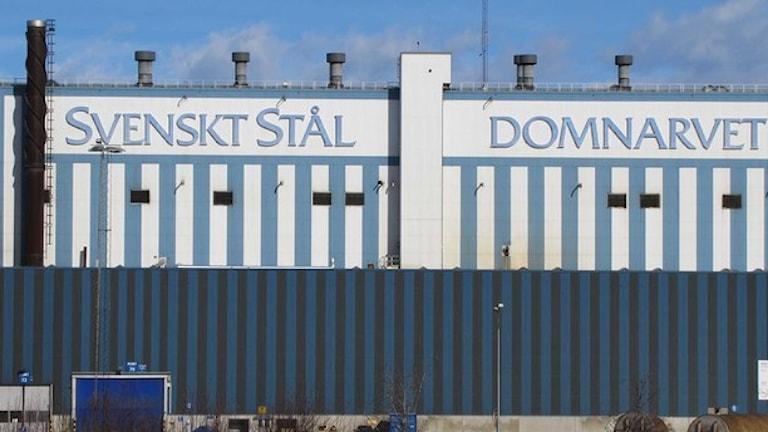 Många anställda tvingas sluta på företaget SSAB i Borlänge i Dalarna. Foto: Linda Zinderland/Sveriges Radio