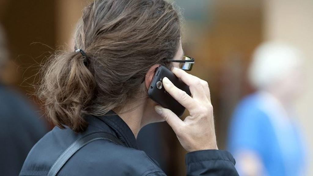 ringa med mobil