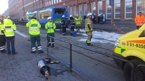 Flera skadade i sparvagnskrock i goteborg