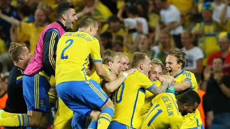 EM-guld i fotboll till Sverige