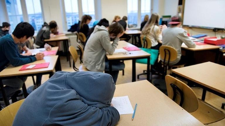 Elever i högstadiet