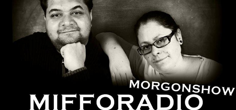 Sebbe och Fia är programledare på Mifforadio i P4
