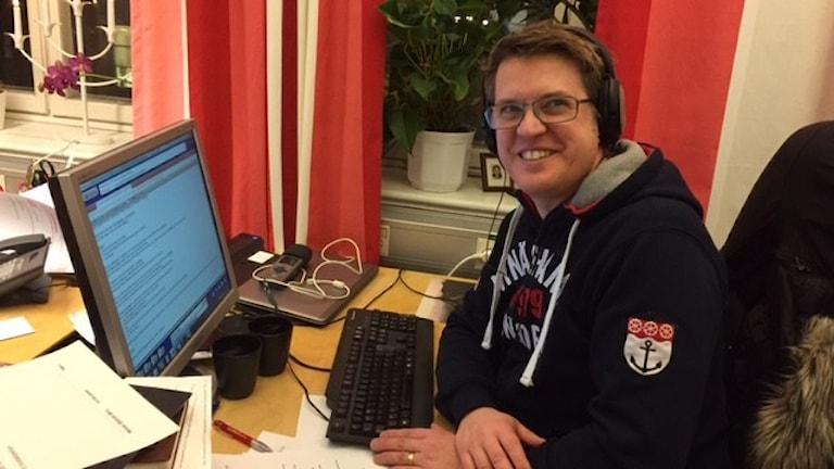 Mattias Klefbeck är reporter på Klartext.