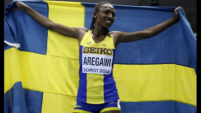 Friitdrottare Abeba Aregawi har åkt fast för dopning.