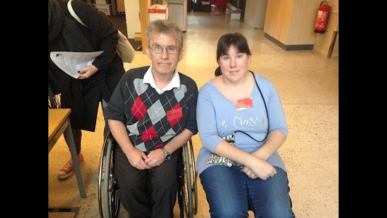 Patrik Rosdahl och Lina Sjöström.