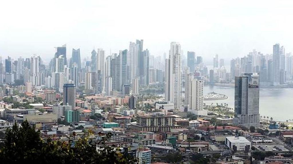 En stad i Panama