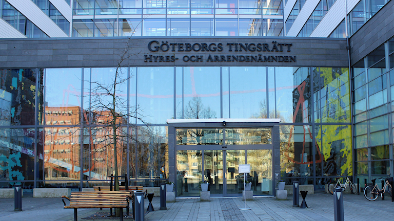 Göteborgs tingsrätt. Foto: Therese Edin/Sveriges Radio