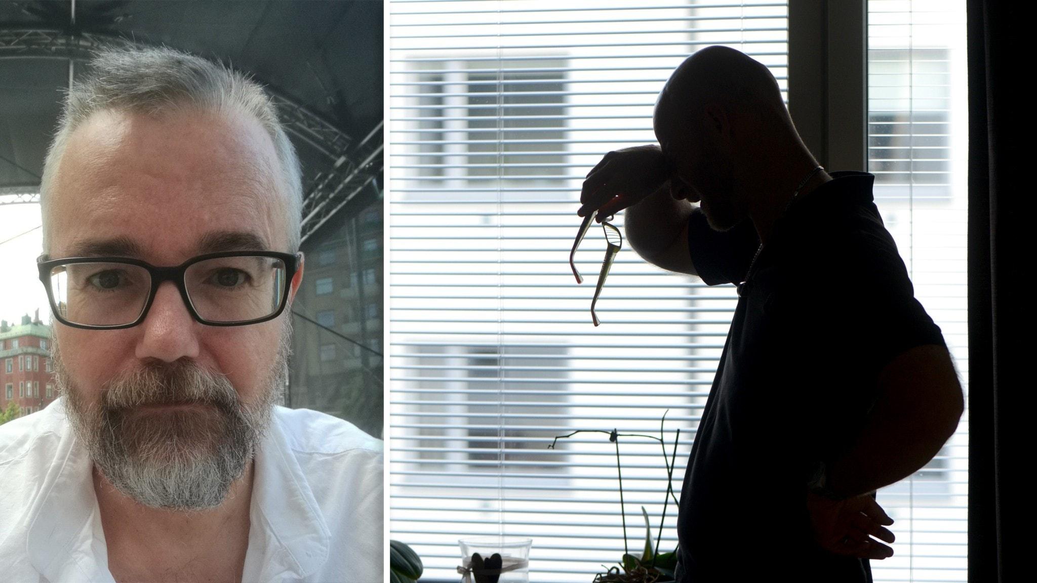 Magnus Werner från Eskilstuna, som bland annat föreläser om psykisk ohälsa.