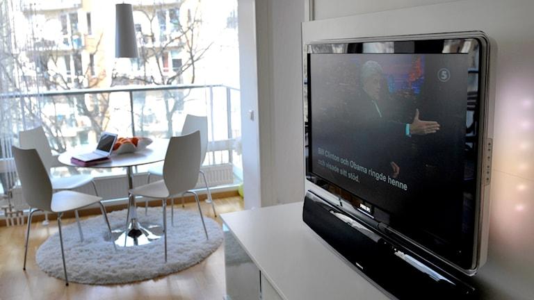 en tv-apparat