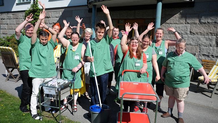 Att ha en funktionsnedsättning behöver inte vara ett hinder för en meningsfull sysselsättning. Drömjobbet är en film av Eva Larsson.