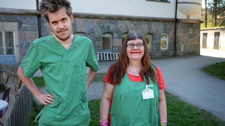 Rasmus och Titti i filmen Drömjobbet.