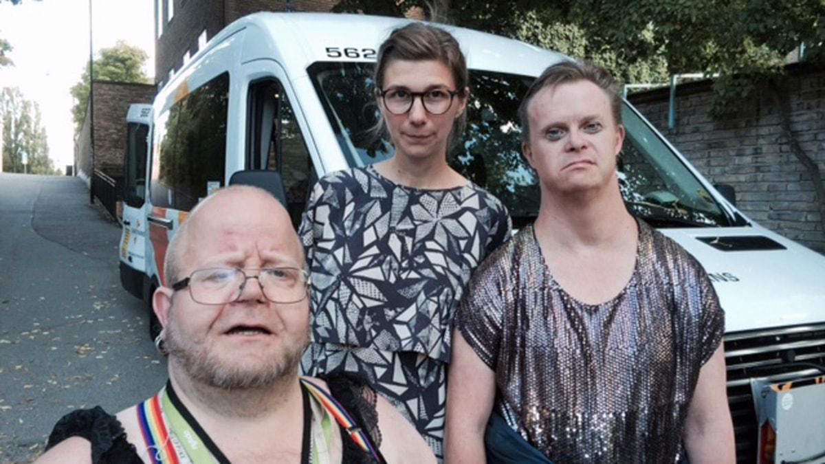 Gamla homosexuella killar har sex