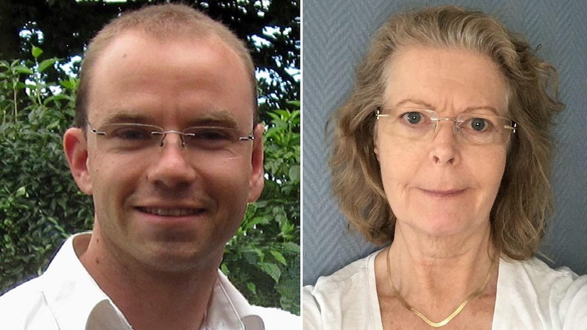 Karl Wittgard och Katarina Wittgard.